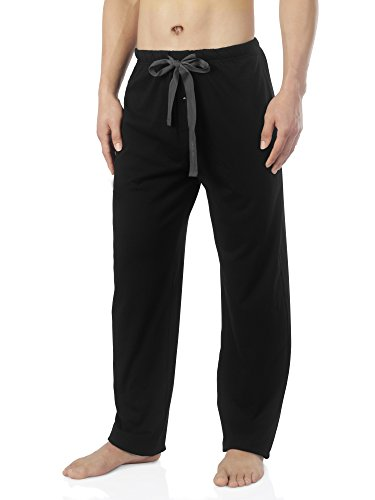David Archy Men's Comfy Jersey Cotton Knit Pajama Lounge Sleep Pant