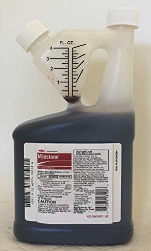 Herbicide Quart - Dow Milestone Specialty Herbicide with Aminopyralid 32 oz