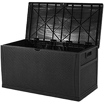 Amazon Com Superday Patio Deck Box Outdoor Storage