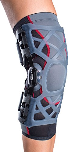 DonJoy OA (Osteoarthritis) Reaction WEB Knee Support Brace: Medial Right/Lateral Left, X-Large by DonJoy