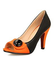 Women's Shoes Stiletto Heel Peep Toe Pumps with Split Joint Shoes Dress More Colors available