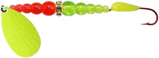 Macks Lure Kokanee Killer Single Glo Hook 6 Chartreuse Yellow