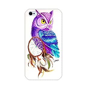 QHY iPhone 4/4S/iPhone 4 compatible Cartoon/Novelty Back Cover