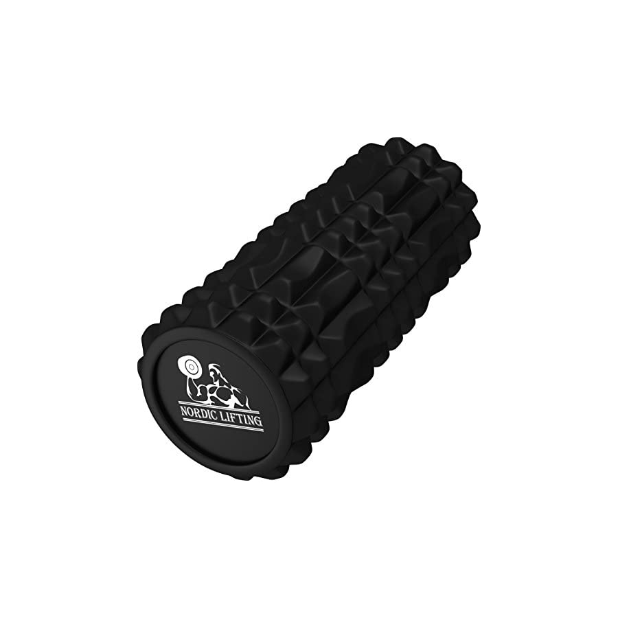 Nordic Lifting Foam Roller for Best Muscle Massage & Deep Tissue Trigger Roll & Stretch Tool 1 Year Warranty