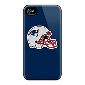 Fashion Cases For Iphone 4/4s- New England Patriots 7 Defender Cases Covers