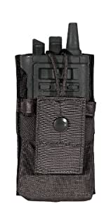BLACKHAWK! S.T.R.I.K.E. Small, Radio/GPS Pouch (Made in USA), Black