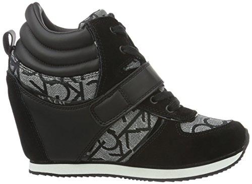 Donna Viridiana Jacquard Metallic Slb Klein Calvin Alte Multicolore Sneaker su Tq50gxtp