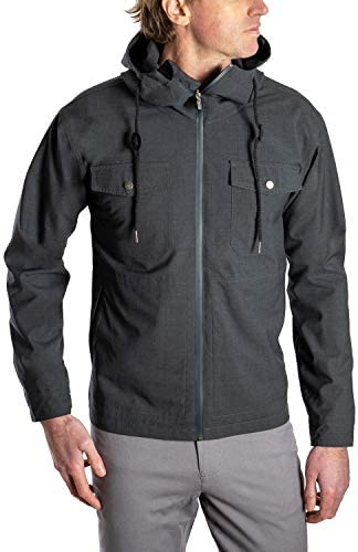 WOOLLY CLOTHING MEN'S NATUREDRY OUTDOOR JACKET - 100% MERINO WOOL