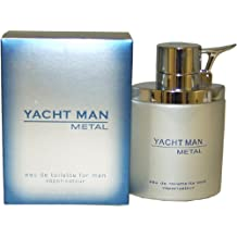 Myrurgia Yacht Man Metal toilette Spray for Men, 3.40-Ounce