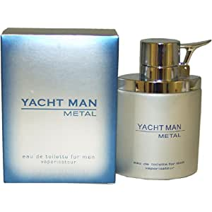 Myrurgia Yacht Man Metal toilette Spray for Men, 3.40-Ounce