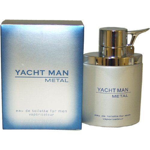 (Myrurgia Yacht Man Metal toilette Spray for Men, 3.40-Ounce)