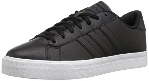 adidas Neo Men's CF Super Daily Sneaker,Core Black/Core Black/White,14 M US