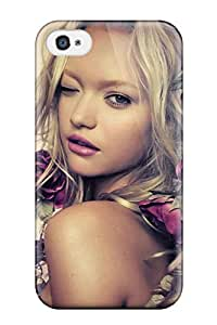 Tpu Case Cover For Iphone 4/4s Strong Protect Case - Gemma Ward Design