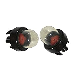 SaferCCTV(TM) Replace Snap In Primer Bulb for Pouland Homelite Sears Craftsman Echo Weed Eater Ryobi McCulloch Brush (Pack of 2)