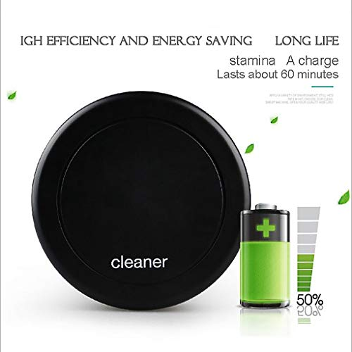 LLJEkieee Robotic Vacuum Cleaner with Max Power Suction Quite Sweeping Good for Pet Hair Carpets,Dust, Dirt, Hair, Fur or Debris Either from LLJEkieee