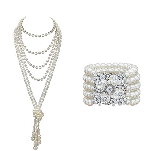 Audrey Hepburn Holly Golightly Breakfast at Tiffanys Costume Jewelry and Accessory Set (I)