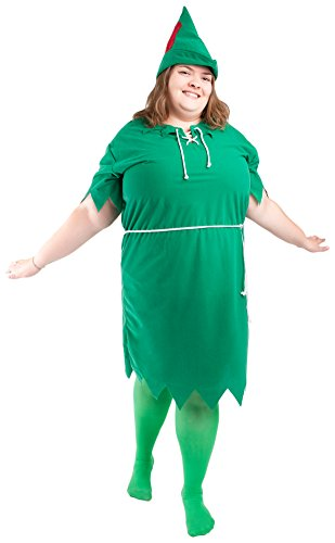 Plus Size Peter Pan Adult Costume -