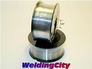 "WeldingCity 2 Rolls of ER309L Stainless Steel MIG Welding Wire 2-Lb Spool 0.035"" (0.9mm) by WeldingCity.com"