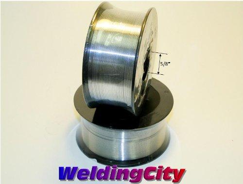 WeldingCity 2 Rolls of ER308L Stainless Steel MIG Welding Wire 2-Lb Spool 0.035'' (0.9mm)