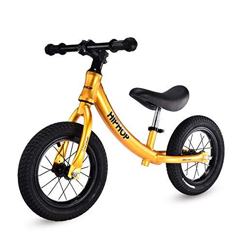 ペダルなし自転車 子供用 幼児用 2/3/4/5/6歳のバランスバイク - 子供用ペダルスポーツトレーニング自転車はありません (色 : Gray) B07P7Q5V7N Orange Orange
