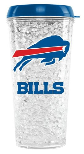 NFL Buffalo Duck House Crystal Tumbler with Straw