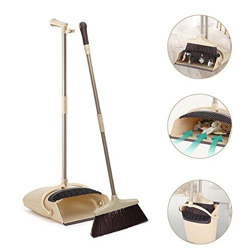 Long Handle Broom and Dustpan Set, 48