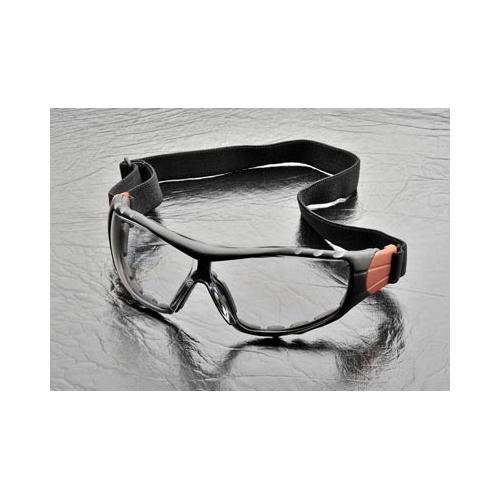 Backed Safety Glasses with Elastic Headband - Clear by Elvex XTS ()