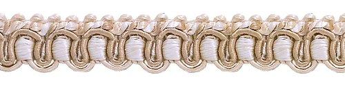 9 Yard Value Pack of Ivory, Light Beige 1/2
