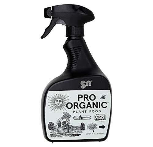 PRO Organic Liquid Fertilizer by Shin Nong, 100% Organic, OMRI Listed, 31oz