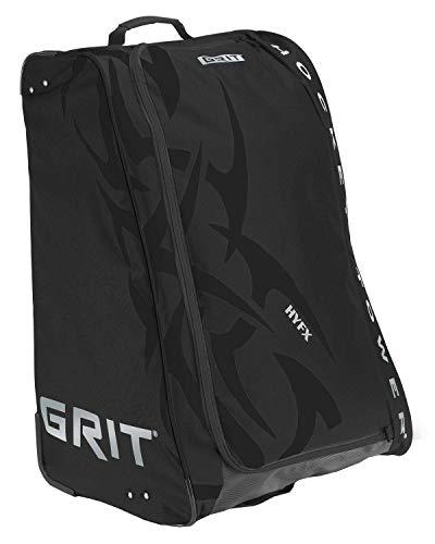 Grit Inc. HYFX Junior Hockey Tower 30 Wheeled Equipment Bag Black HYFX-030-B