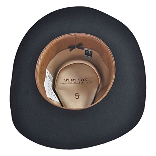 Stetson Rawhide Buffalo Felt Western Hat at Amazon Men s Clothing store  132d2bf5fbb