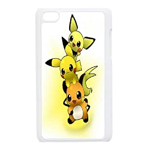 FOR IPod Touch 4th -(DXJ PHONE CASE)-Lovely Pikachu-PATTERN 4