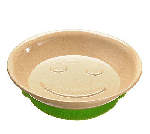 Schale 'sware Reis Schale Faser Umweltfreundlich BPA-frei Kinder Baby Silikon Saugfuß Schale Obst Salat Servieren Schüssel rose