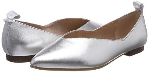 Bailarinas Ballerina silver Punta 80214003005100 Marc Con O'polo Plateado Para Cerrada Mujer 5tCXq