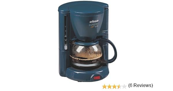 Ufesa CG1602 - Máquina de café Capriccio Plus 40, 650 W, color azul: Amazon.es: Hogar
