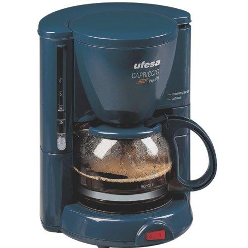 Ufesa CG1602 - Máquina de café Capriccio Plus 40, 650 W, color ...