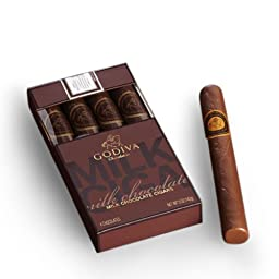 Godiva Chocolatier Milk Chocolate Cigars