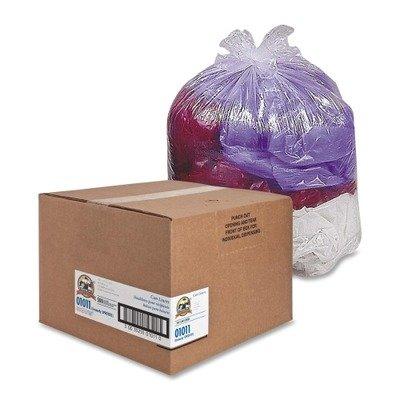 Hexene Clear Trash Can Liner (Super Hexene Clear Trash Can Liners, Clear Type/Quantity: 16 Gallon, .6Mil, 24