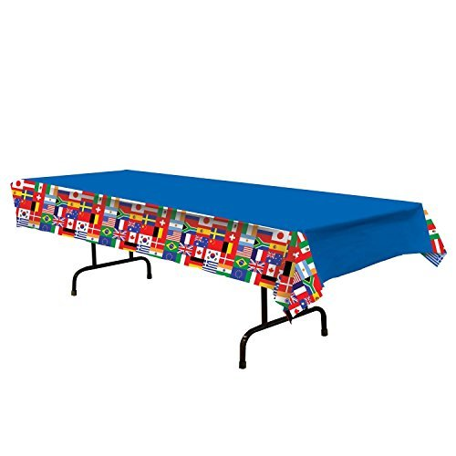 International Flag Tablecover Party Accessory