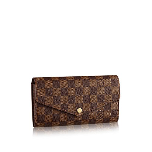 Louis Vuitton Damier Ebene Canvas Sarah Wallet N63209 - Louis Vuitton Billfold