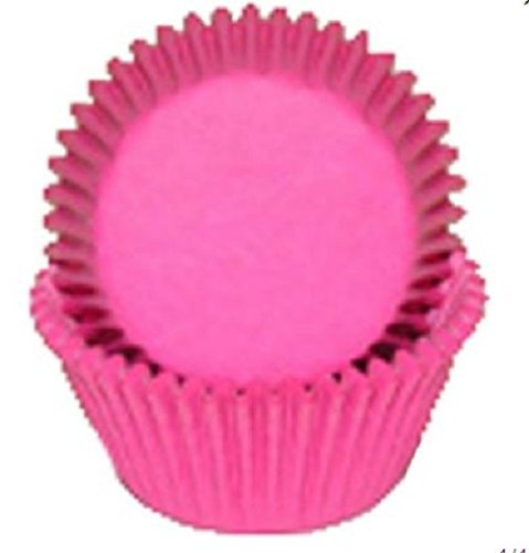 (CK Products 500 Count Solid Baking Cups, Standard Sized, Pink)