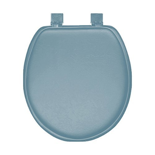 Blue Soft Padded Round Toilet Seat - NEW