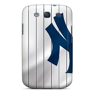 [faV2455wiNc]premium Phone Case For Galaxy S3/ New York Yankees Tpu Case Cover