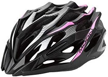 サイクリングマウンテンロード自転車用安全一体成形ヘルメット 保護用のヘルメットに乗って屋外スポーツ 自転車アクセサリー (Color : Purple, Size : L)