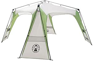 Coleman Instant Event Shelter Green White 14 Ft Amazon