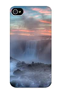 Top Quality Protection Iguazu Fallsbrasil Case Cover For Iphone 4/4s With Appearance/best Gifts For Christmas Day