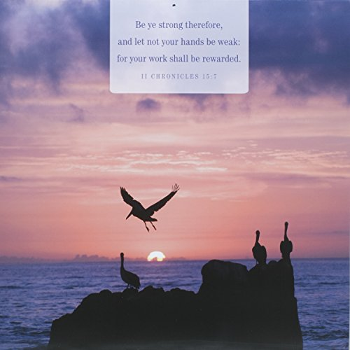 DaySpring 12″ x 12″ 2016 12-Month Wall Calendar, Verses of Hope (73344)