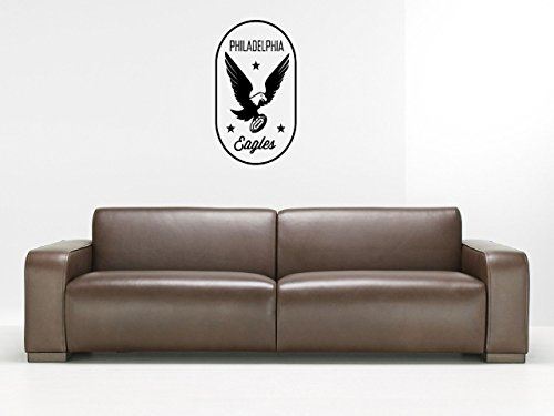 Wall Sticker Decal American Football NFL Team Logo Philadelphia Eagles Gm1098 -