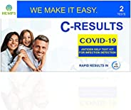 empowerDX 4-in-1 Family at-Home COVID-19 Nasal PCR Test, FDA Authorized (Home-Collected)