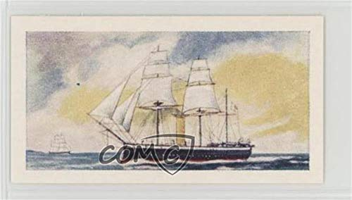 - Steam Corvette (Trading Card) 1959 Cadet Sweets Evolution of the Royal Navy - [Base] #13